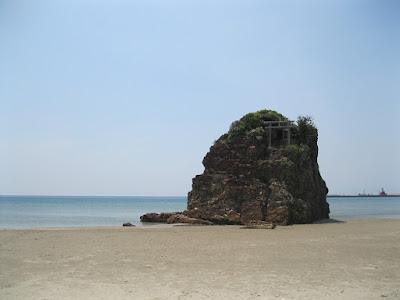 Matsue Beach, Shimane Prefecture, Japan.
