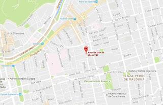 Capicua Sandwich mapa ubicacion