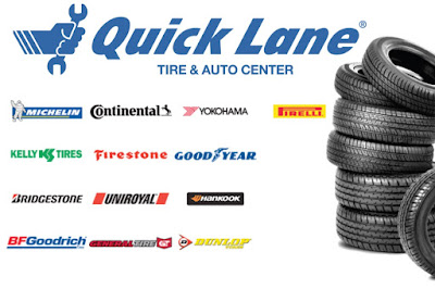 Quick Lane Tire & Auto Center inside Gresham Ford carries 13 major brands of tires