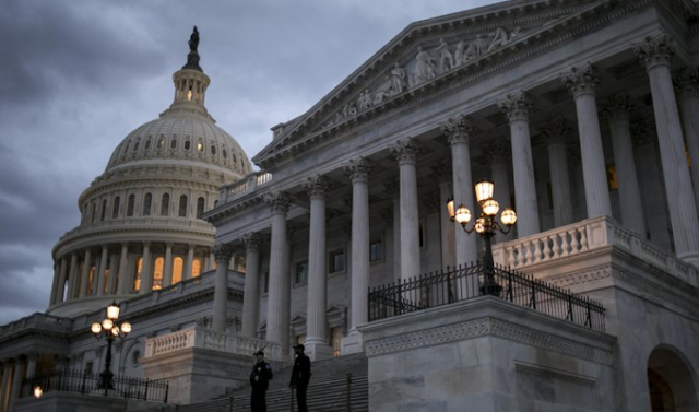 Shutdown extends into workweek, as Senate talks continue