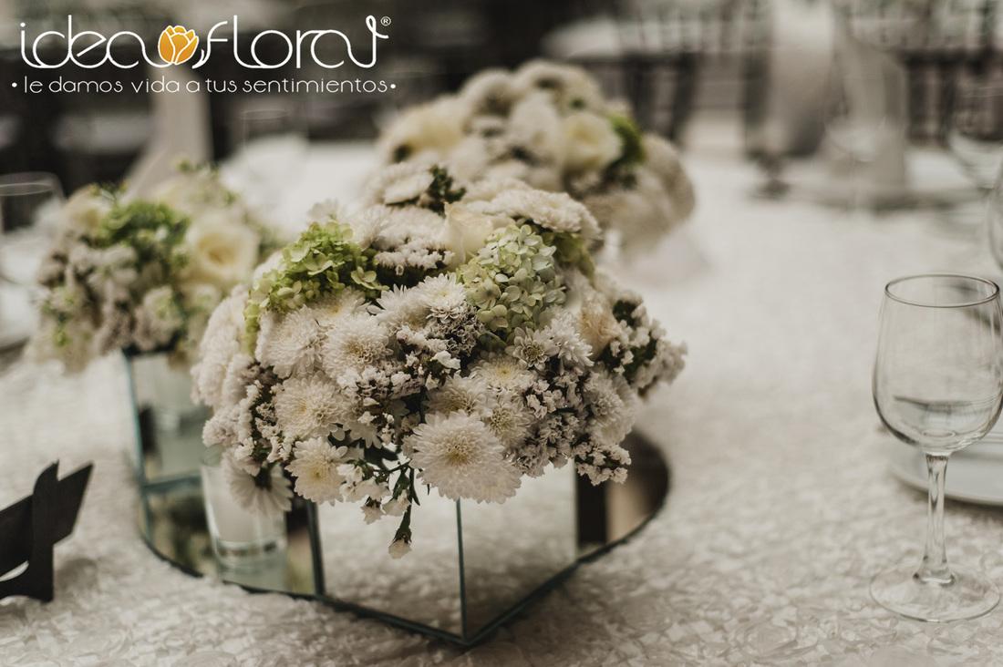 Decoración con espejos | Idea Floral