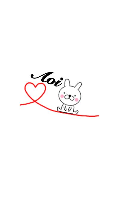 Lovely Rabbit Aoi