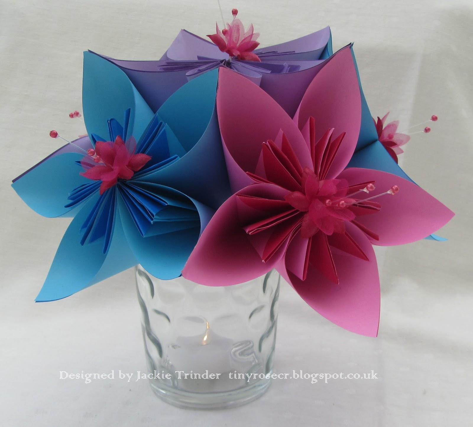 Tinyroses Craft Room Kusudama Flower Table Decoration Instructions