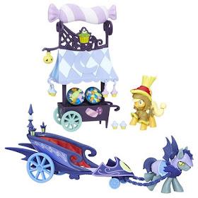 My Little Pony Nightmare Night Set Applejack Batpony Guard Chariot
