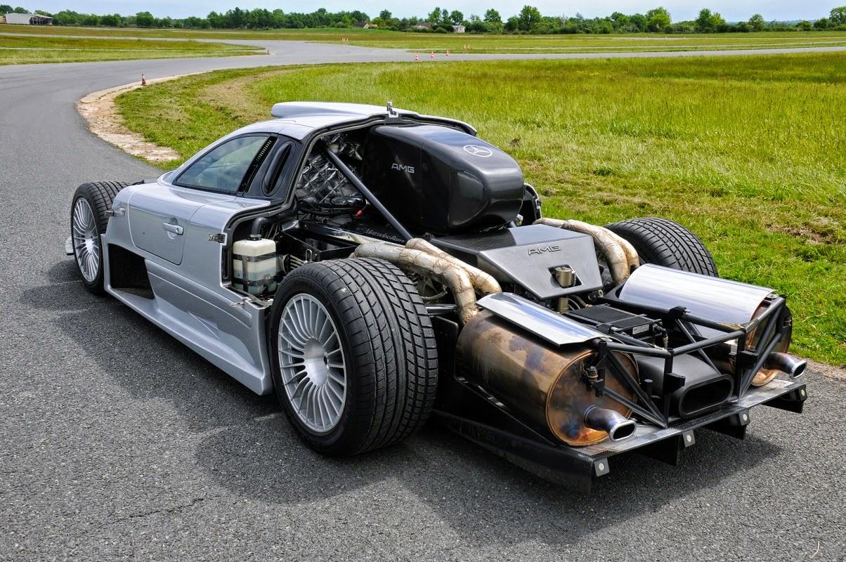 Mercedes Benz Clk Gtr Amg Benztuning