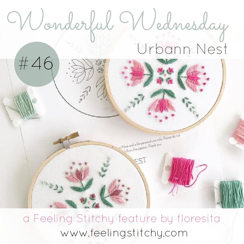 Wonderful Wednesday 46 - Urbann Nest, a Feeling Stitchy feature by floresita