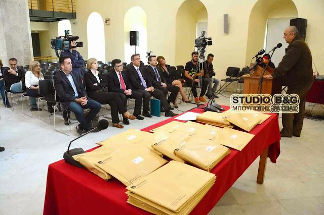 Ο Δήμος Ναυπλιέων ασφαλίζει τους μαθητές του
