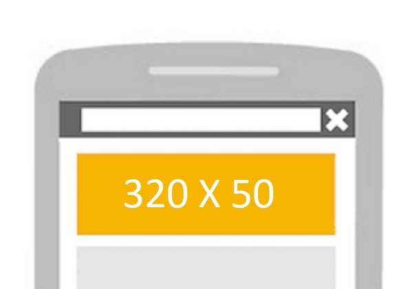 Why Not Try Placing a 320 X 50 Mobile Banner Here