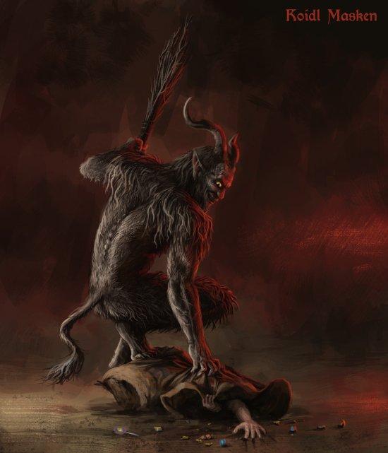Stefan Koidl artstation deviantart arte ilustrações fantasia terror sombrio