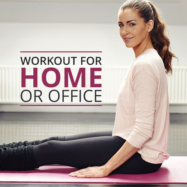 Get Up and Move Workout for Home or Office