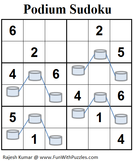 Podium Sudoku (Mini Sudoku Series #78)