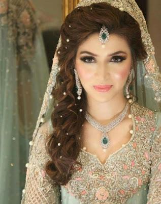 muslim wedding dress green