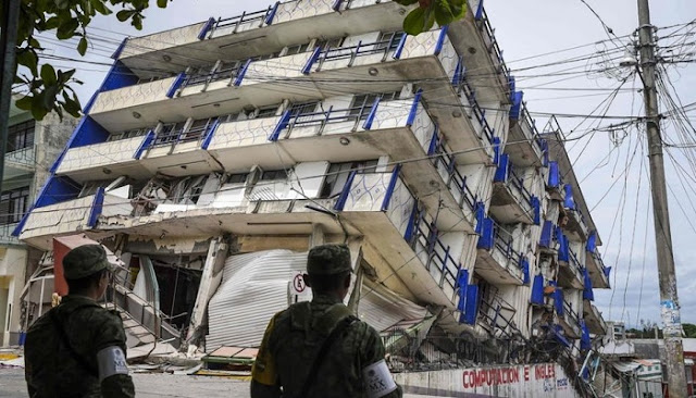 Jumlah Korban Gempa Bumi di Meksiko Bertambah Menjadi 61 Orang