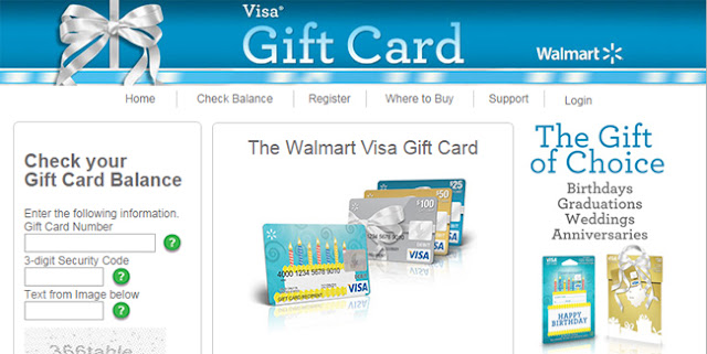 walmart visa gift card activation fee