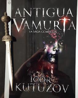 Portada del libro Antigua Vamurta, de Igor Kutuzov