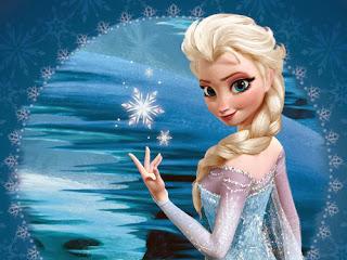 Elsa es la creadora de un invierno mágico eterno