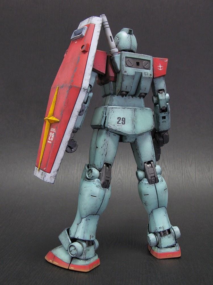 Mg 1 100 Rgm 79 Gm Ver 2 0 Custom Build Gundam Kits
