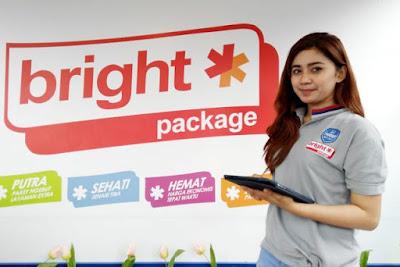 Jasa pengiriman Bright Package dari Pertamina.