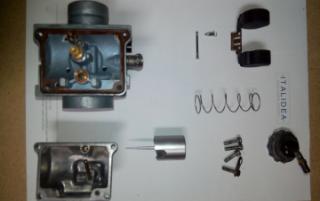 Gambar komponen dalam karburator