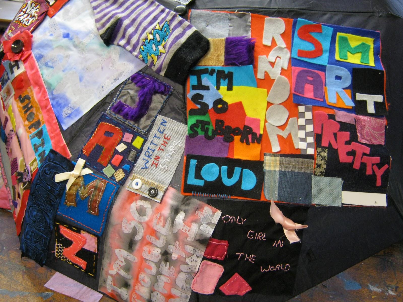 Art textiles gcse coursework
