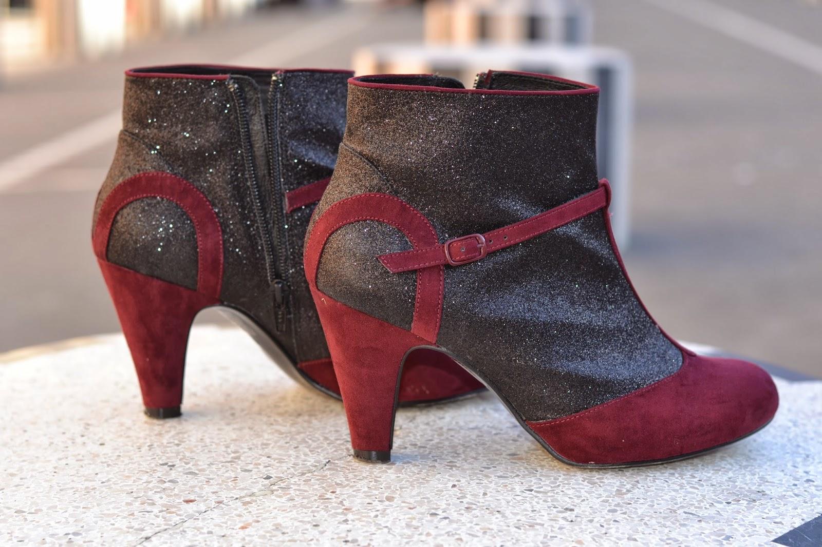 如何穿闪闪发光的靴子