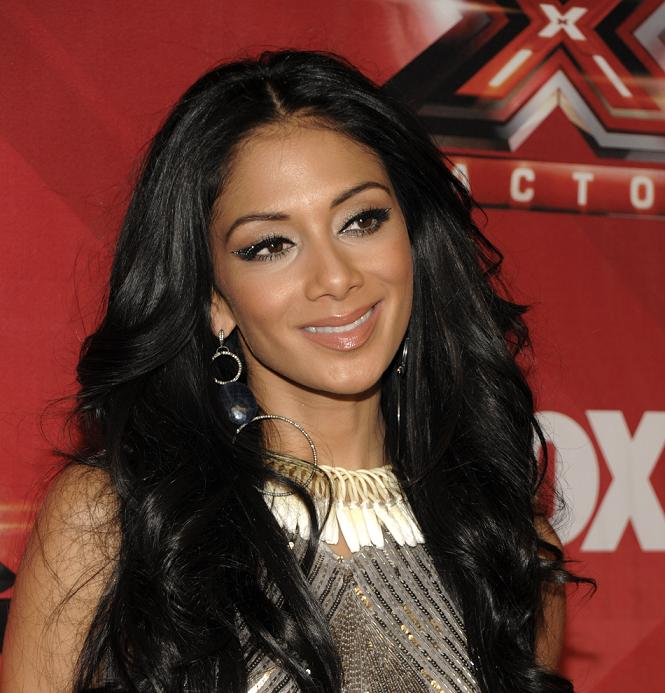 Nicole Scherzinger looks glam at the X-Factor Finale Show in Hollywood