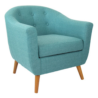 Light Teal Chair