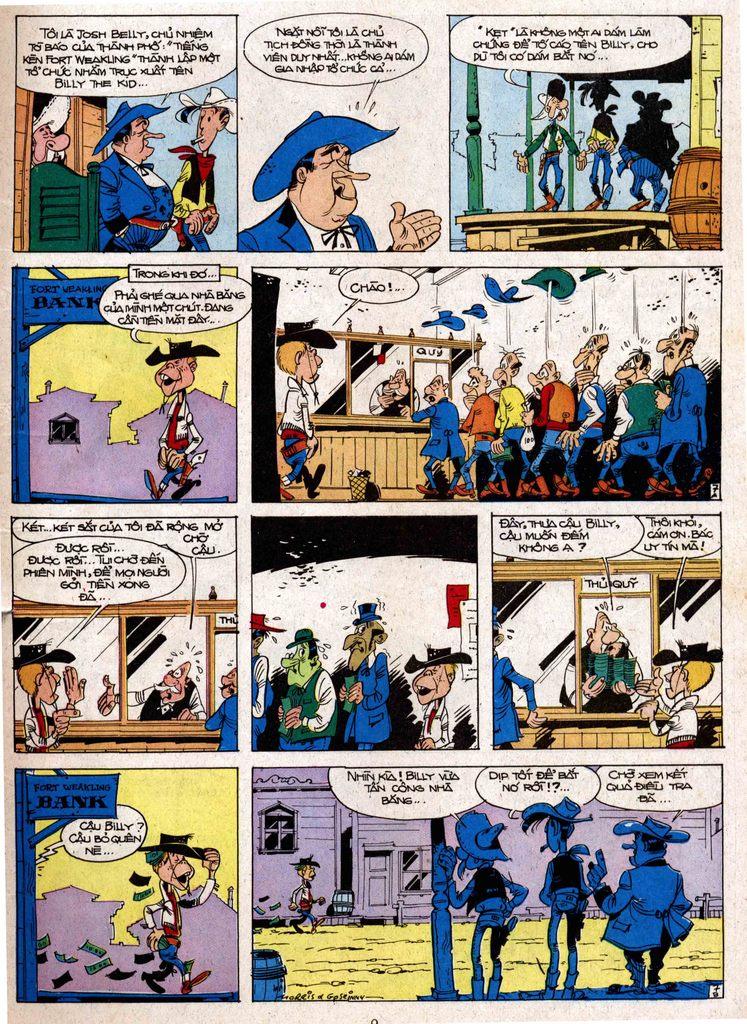 Lucky Luke tap 7 - ten billy the kid trang 7
