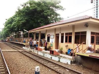 Alamat Stasiun Gang Sentiong
