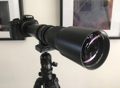 DigitalMate 500mm telephoto lens
