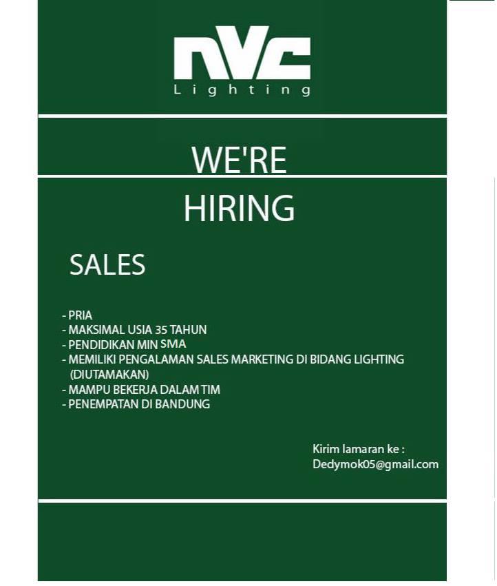 Lowongan Kerja Sales Di Bandung Lowongan Kerja Terbaru