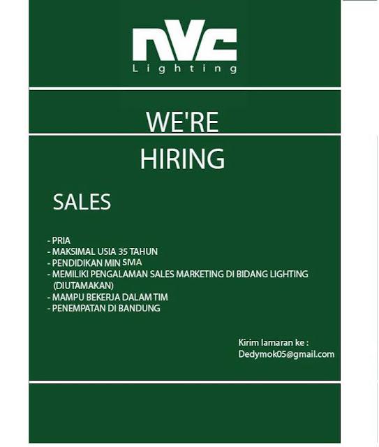 Lowongan Kerja Sales di Bandung