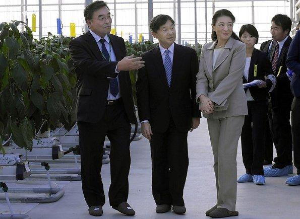 Crown Prince Naruhito of Japan and Crown Princess Masako of Japan visited Nankoku city in Kochi prefecture