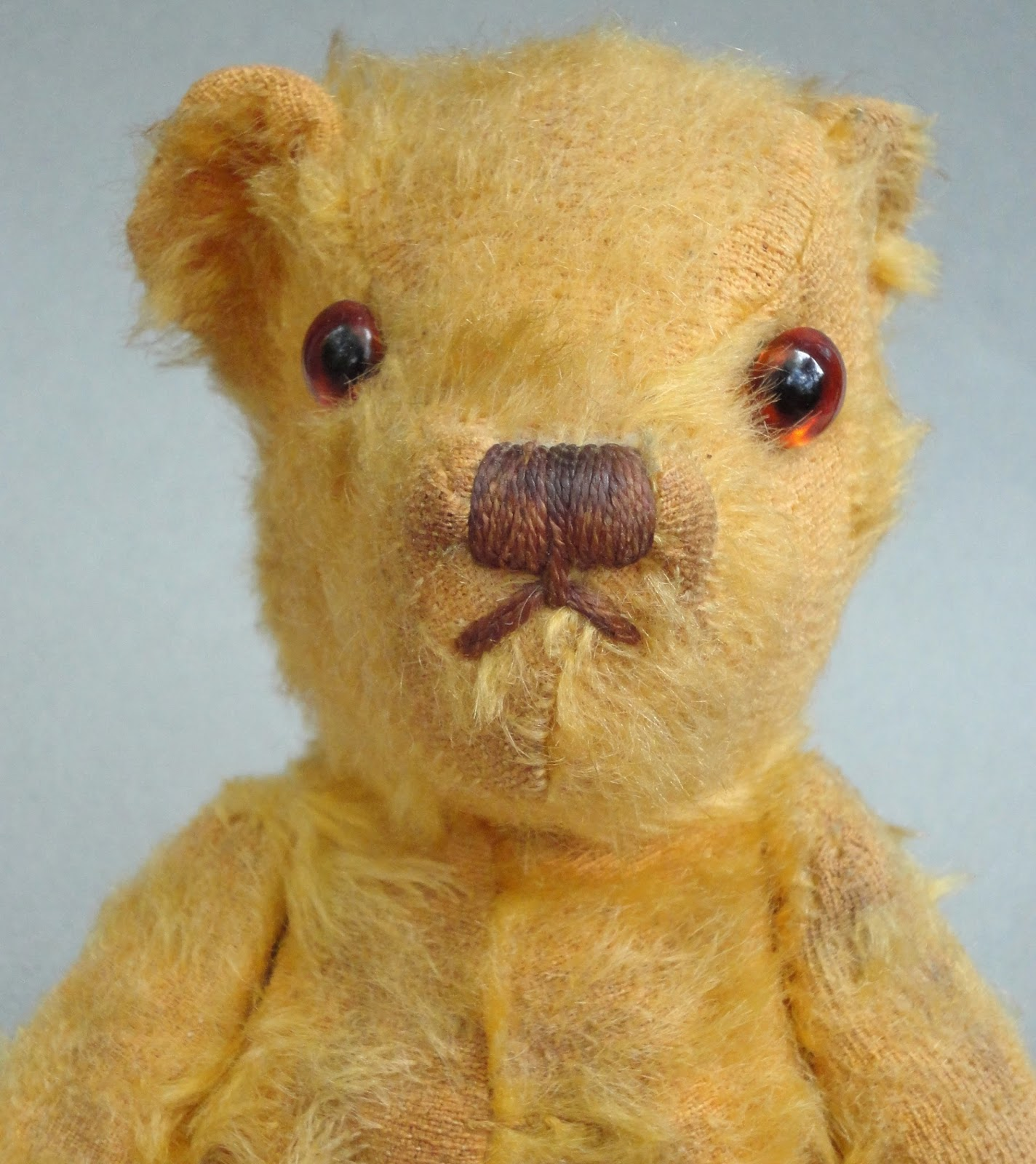 Invicta Teddy Bears were made in mohair and wool plush before World War II 453acb5ce
