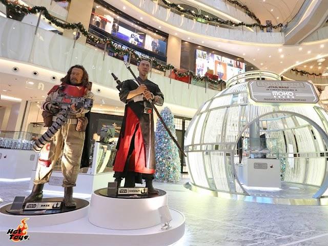 【星球大戰】「死星」登陸 新世紀與Hot Toys舉辦「星戰」展覽