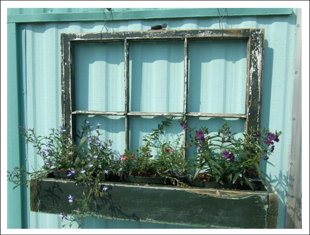 It's Written on the Wall: Old Windows: Use Them In So Many