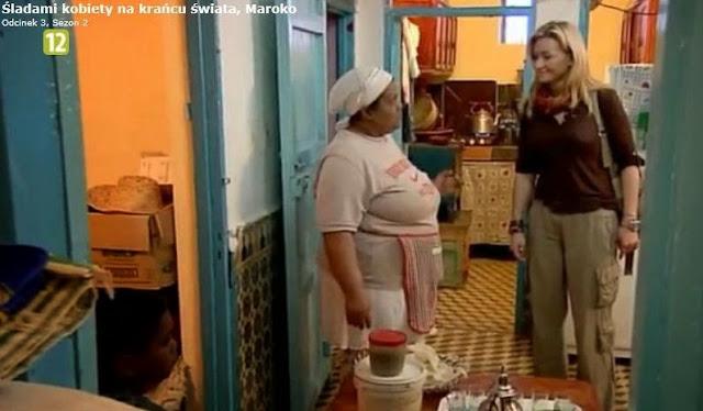 Kobieta na krańcu świata Maroko