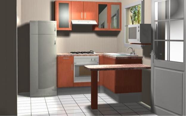 Decora hogar 10 cocinas peque as decoradas y pr cticas for Componentes de una cocina integral