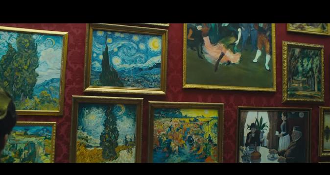 """Van Gogh - clip """"Forme e colori di Van Gogh"""""""