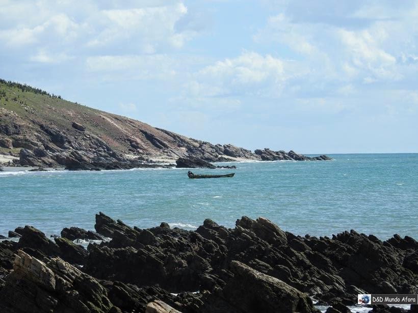 O que fazer em Jericoacoara em 1 dia - Caminho feito através da Praia da Malhada até a Pedra Furada