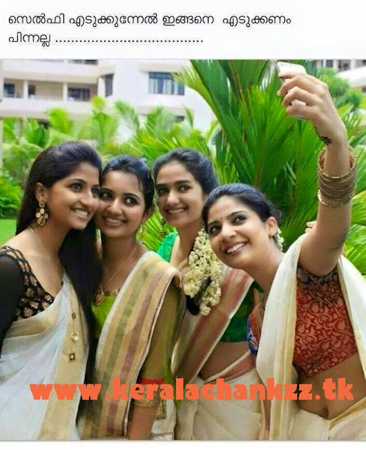 Kerala Girls Take Selfie Kerala College Girls Take Hot Selfie-5481