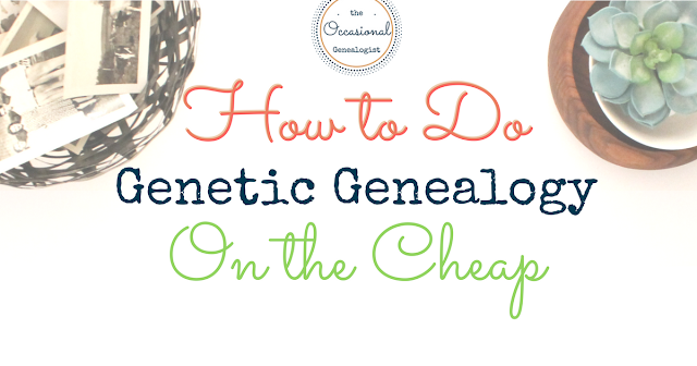 DNA tests get expensive when you want to test every cousin. Save on the kits so you can test more relatives!