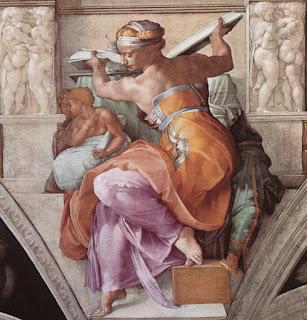 Sibila Libica, Michelangelo, Capela Sistina