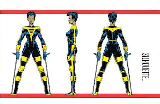Silueta Marvel Comics