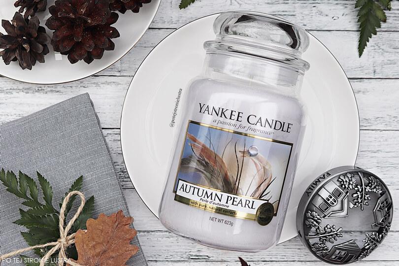 yankee candle autumn pearl receznzja