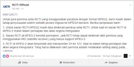 transponder rcti mpeg2 terbaru