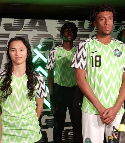 Nike Unveils New Super Eagles Kit For Russia 2018 World Cup (Photos+Video)