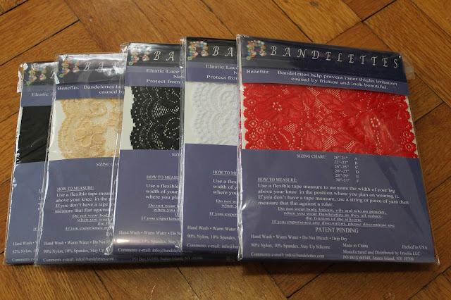 Gama de colores de las bandelettes de encaje