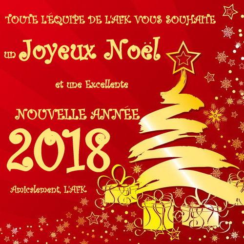 noel 2018 voeux AFK: Meilleurs Vœux! noel 2018 voeux