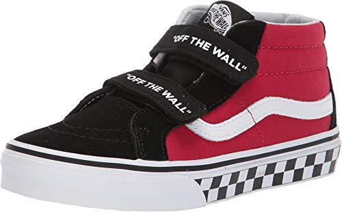 8611438843 Vans Boy s Kids Logo Sk8 Mid Reissue V Skate Shoes (12 M US Little ...